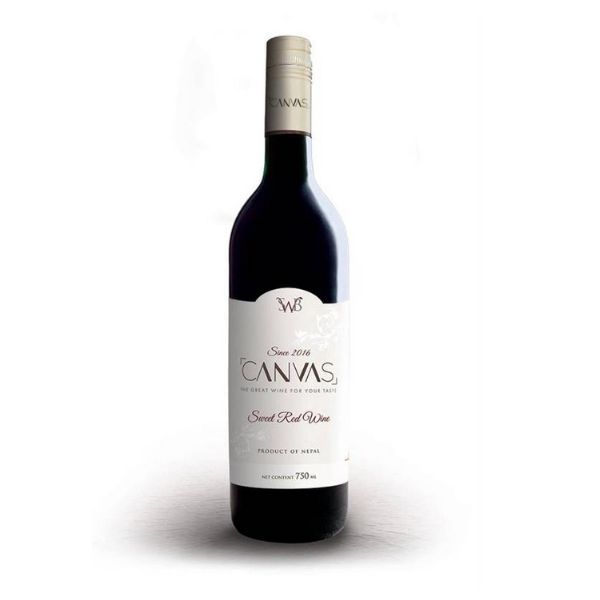 Canvas Red Wine